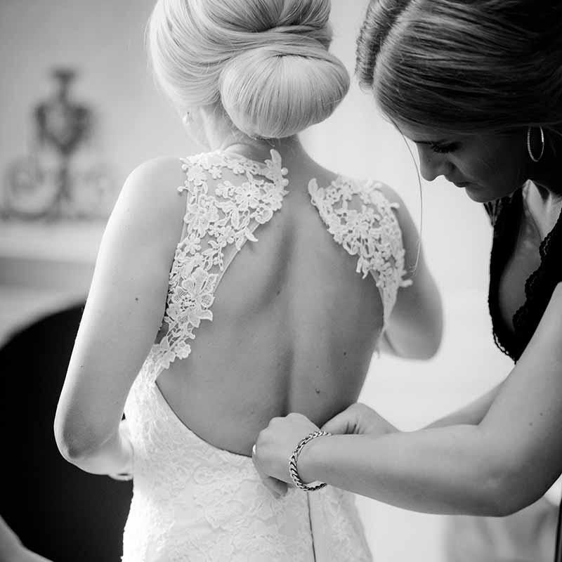 Brudens forberedelse